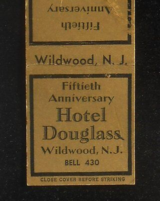 1938 Fiftieth Anniversary Hotel Douglass Bell Phone 430 Wildwood NJ Cape May Co