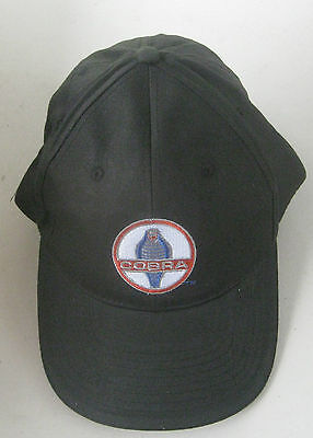 Ford Cobra Carrol Shelby Cap Hat With Embroidered Signature