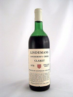 1970 LINDEMANS Oeillade Shiraz Claret H Isle of Wine