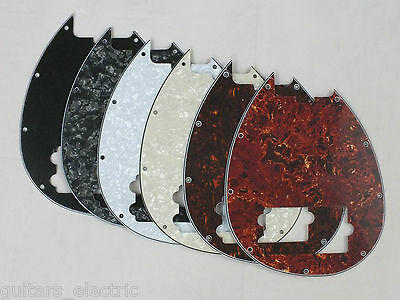 SCRATCH PLATE Pickguard for MUSICMAN STERLING 4 String BASS GUITAR in 6 Colours