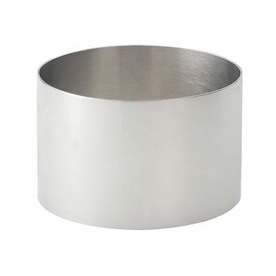 HIC Stainless Steel Food Ring Mold 3.5 inches - 93212