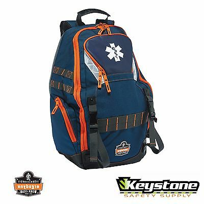 Ergodyne Arsenal EMT EMS  First Responder Trauma Backpack Gear Bag - 5244 - Blue