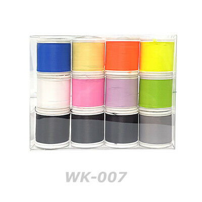 Lot of 12ea - Rodcraft Wrapping NCP Thread D size 100yd for Rod Building(WK-007)