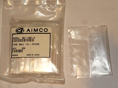 16 new AIMCO 981-045-0 BALL 1.5 Nylon Parts for Oil Pulse Wrench Pneumatic Tools