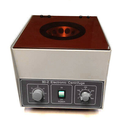 Electric Lab Centrifuge 80-2 Laboratory Medical Practice 4000rpm 12x20 ML Rotor