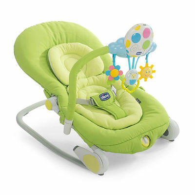 New Chicco Balloon Bouncer Spring Adjustable Baby Rocker Chair From Birth