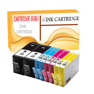 8 Compatible HP 364XL Ink For Deskjet 3070A 3520 e-All-in-One Officejet 4620