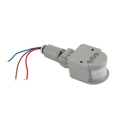 1PCS Outdoor AC 220V Automatic Infrared PIR Motion Sensor Switch for LED Light C