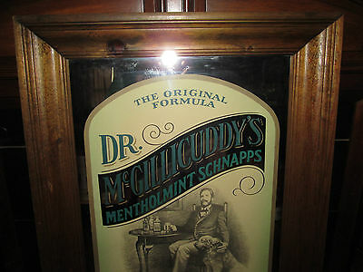 "Dr.McGillicuddy's Mentholmint Schnapps  Bar Sign 34.50"" Tall X 20.50"" Wide"