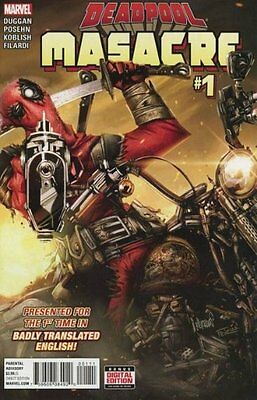 Deadpool Masacre #1 Marvel Comics 2016