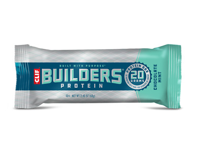 Clif Builders Protein Bars box 12 x 68g SAVE 20%