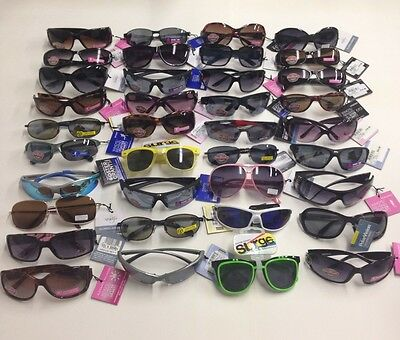Wholesale lot 125 Pairs FOSTER GRANT Sunglasses Asstd. Styles & colors NEW