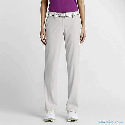 New Nike Women's Modern Rise Tech Golf Pant 618147 072 Tour Performance SZ 0