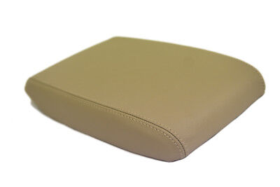 Armrest Center Console Leather Synthetic Cover for Toyota Highlander 08-13 Beige