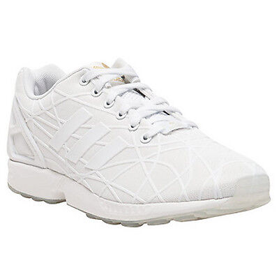 95c0c530a378c ADIDAS ORIGINALS MEN S ZX FLUX WHITE WHITE GOLD BB5799 - BRAND NEW ...