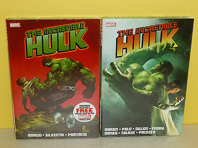 THE INCREDIBLE HULK vol 1-2 HC - Jason Aaron SILVESTRI - Marvel SEALED Wolverine