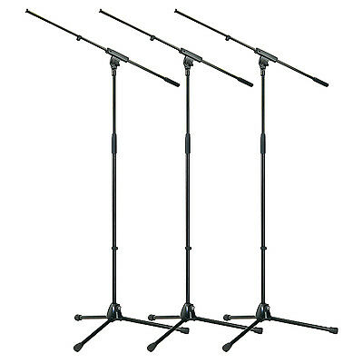 K&M Professional Microphone Boom Stand  -  3-PACK!