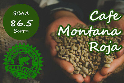 5kg Raw Colombia Montanita Microlots - Arabica Green Coffee Beans home roaster