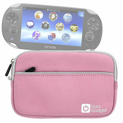 """Pink 7"""" Water and Scratch-Resistant Neoprene Case Compatible with Sony PS Vita"""