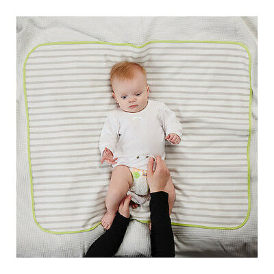 IKEA TUTIG Soft Cotton Babycare Baby Care Nappy Change Changing Mat 90 x 70cm