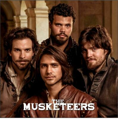 The Musketeers Drinks Coasters, Fridge Magnets & Keyrings