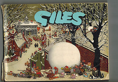 GILES CARTOON ANNUAL No. 11 from 1957