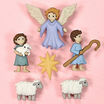 DRESS IT UP Buttons The Good Shepherd 8816 - Embellishment  - Xmas