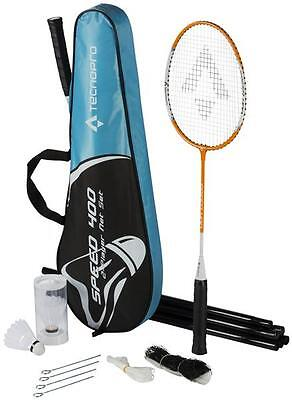 "TecnoPro Badminton-Set ""Speed 400"" - UVP: 19.95€ - NEU"