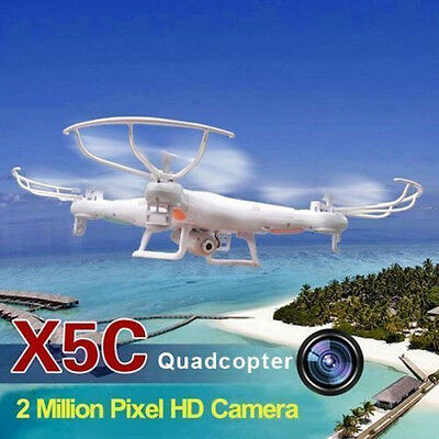 NEW Syma X5C Explorers 2.4GHz 4CH 6 Axis Gyro RC Quadcopter With HD 2MP Camera