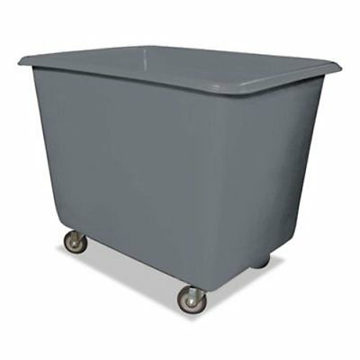 Royal Basket Trucks 800 lb. Capacity Poly Truck, Gray (RBTR12GRXPG4UN)