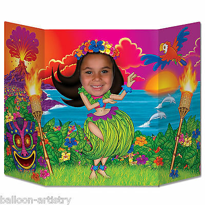 Tropical Hawaiian Hula Girl Fun Luau Party Photo Prop Scene Decoration