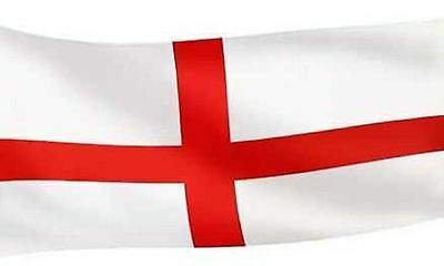 "Large 5ft X 3ft  60"" X 36"" 152cmX90cm England St George One Flag Football Flags"