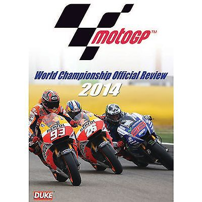 Duke MotoGP World Championship Official Review 2014 DVD - Motorcycle / Bike