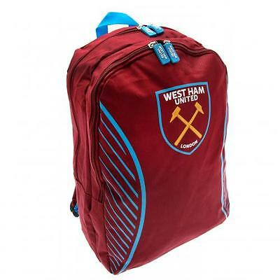 West Ham United Backpack SV Bag PE Gift New Official Licensed Football Product