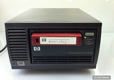 HP LTO Q1520A STREAMER 200GB / 400GB EXTERN, SCSI, LTO Refurbished mit Band, 1A