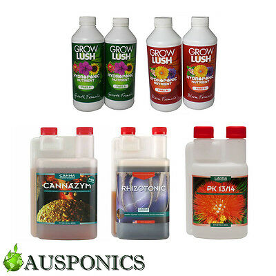 Canna Grow Lush Nutrients Hydro 1L Special Nutrient Kit