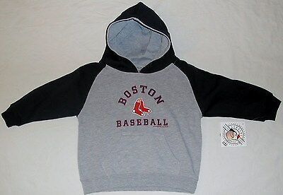 official photos bb674 20434 BOSTON RED SOX Hooded Sweatshirt Hoodie Toddler 2T 3T 4T Nwt Gray Blue