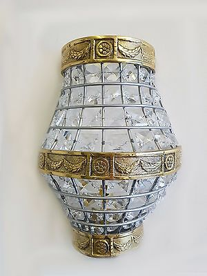 Gorgeous Vintage/French Style Crystal Glass Wall Lights WL00-4P