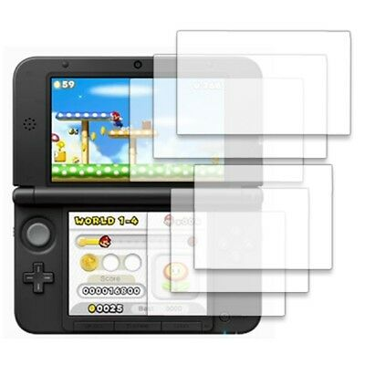 3 Pack of Clear Invisible Screen Protector Covers for Nintendo 3DS XL / LL