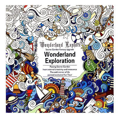 Graffiti Coloring Book Books Paperback Gifts English  Wonderland Exploration