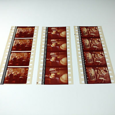 The Sting 3 Movie Strips 35mm Film Cells Robert Redford RARE Aus + FREE POST