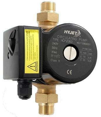 Hyjet HCP2060 Hot Water Circulator Cold Water Circulator Includes Unions