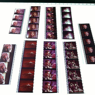 Total Recall x9 Movie Strips 35mm Film Cells Arnie Action RARE Aus + FREE POST