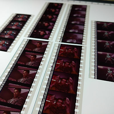 Total Recall x6 Movie Strips 35mm Film Cells Arnie Action RARE Aus + FREE POST