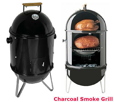 New BBQ Charcoal Smoke Grill Charcoal Wood Outdoor Patio Smoker Cooker Unit Chip