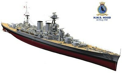 Trumpeter 1/200 HMS Hood TR03710 Brand New Plastic Model Kit Battleship Ship