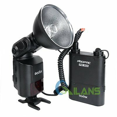 Godox AD360II-N Flash Light Speedlite WITSTRO+PB960 Battery Pack for Nikon Black
