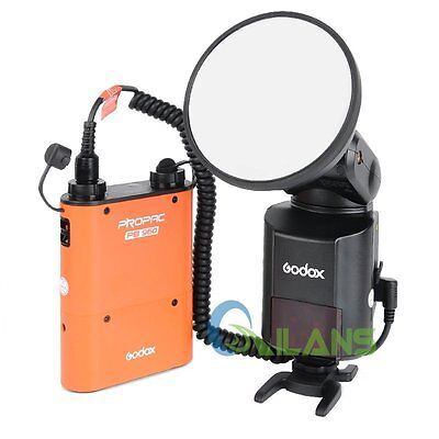 Godox AD360II-N Flash Light Speedlite WITSTRO+PB960 Battery Pack Orange 【AU】