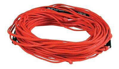 Straight Line Dyneema Wakeboard Line, 65', red or green. 48800