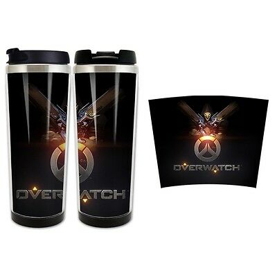 Game Overwatch Reaper Double Insulated Heat Resisting Cup 420 ML